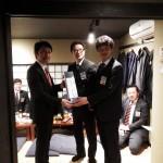 大村JC永石理事長と伊丹JC高橋理事長