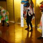 京 獅子舞プロジェクトさんによる演武